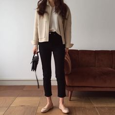 movie date outfit Simple Outfits, Chic Outfits, Fashion Outfits, Look Fashion, Winter Fashion, Looks Style, My Style, Best Street Style, Mode Hijab