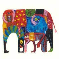 Sara Infante Illustrator - Elephanta