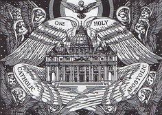 Unam, sanctam, catholicam, et apostolicam ecclesiæ