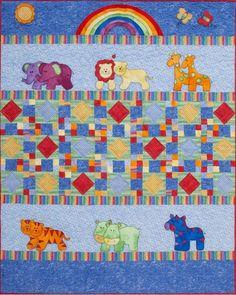 Kids Quilts Little Noah Applique Quilt Pattern
