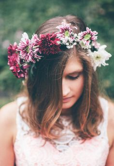 FediGioia Photography - Flower crowns project by Fedi Gioia Via. Flower Crowns, Siri, Fairies, Party, Model, Flowers, Summer, Projects, Photography