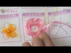 リボン刺繍つくり方講座39/41【H立体花びら繍c】ケイトリリアン刺繍館