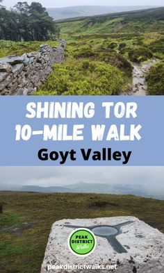 Shining Tor walk and the Goyt Valley in the Cheshire Peak District. This beautiful 10-mile walk takes you to the highest point in Cheshire to Shining Tor summit, where on a clear day you can see for miles. Route includes map, full detailed instructions and loads of useful information about where to park for the walk #peakdistrict