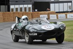 Jaguar D-Type at Goodwood Festival of Speed 2014