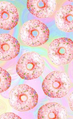 cute, donas, fondo, fondos, iphone, pink, rosa, rosado, tumblr, wallpaper, wallpapers, donunts, fondosiphone, backaround