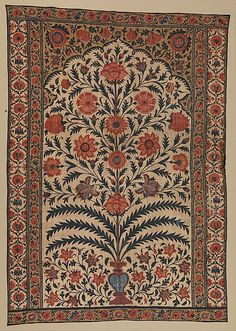 Panel from a Tent Lining, 1725-50, India