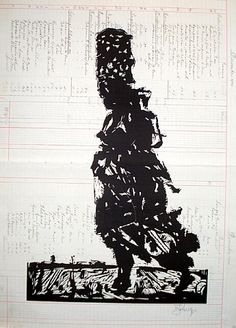 Fire Walker I // William Kentridge