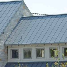 Green Standing Seam Metal Roofing Amp Neutral Gray Beige