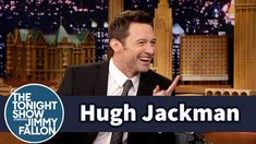 Hugh Jackman Shows Jimmy How to Really Eat Vegemite This is just adorable. Pure Hugh at his best!