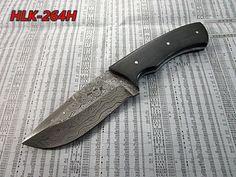 Damascus Custom Made Hunting Knife,Two Tune G10 Micarta Handle.HLK-264H #Homelandknives