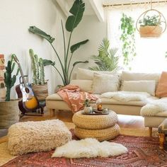 Astonishing Info Regarding California Eclectic Living Room Style Uncovered Eclectic Living Room, Boho Living Room, Interior Design Living Room, Living Room Designs, Living Room No Tv, Living Room With Plants, Modern Interior, Earthy Living Room, Living Room Decor Eclectic