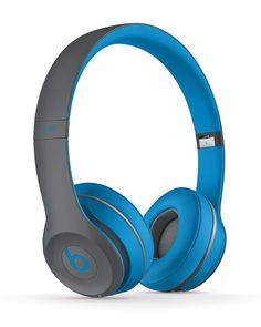 Beats Solo2 Wireless On-Ear Headphones, Flash Blue - Beats by Dr. Dre