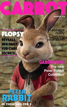 Flopsy is hopping into spring in her signature red shrug jacket with contrasting black peter pan collar! This look is all about subtle, chic details. And no pants, of course. Peter Rabbit Movie, Creative Party Ideas, Animation Movies, Cabbages, Family Movies, Beatrix Potter, Book Characters, Rabbits, Peter Pan