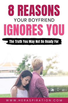 There could be a combination of several reasons why your boyfriend is ignoring you. In this read we compile 6 possibilities - learn the truth here. Click to continue. Casual Relationship, Relationship Blogs, Relationship Problems, Getting Him Back, After Break Up, Ignore Me, Still Love You, Ex Boyfriend, Talking To You