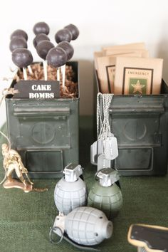 Call of duty inspired party | army | military | homespun hostess