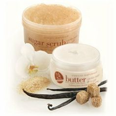 Cuccio Naturale Vanilla Bean and Sugar Duo by Cuccio. $33.78. cuccio butter blend     cuccio sea salt     vanilla bean  sugar. CUCCIO NATURALE Vanilla Bean  Sugar Duo is new and you will fall in love with the scent immediately. Vanilla Bean  Sugar Butter Blend natural anti-oxidant qualities and ultra rich softening benefits bring non-oily, 24 hour hydration into an inspired feeling of comfort and calm. 8 oz. Sugarcane crystals and Vanilla Bean combine to ex...