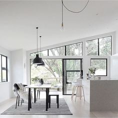 Here are the Black Window Frames Ideas. This article about Black Window Frames Ideas was posted under the Furniture category. Timber Window Frames, Timber Windows, Black Windows, Layout, Kitchen On A Budget, Kitchen Ideas, Modern Farmhouse Style, White Walls, Cool Furniture