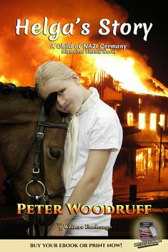 Living history through the eyes of a young German girl. Based on a true story. Like many little girls, Helga Reiter dreams of horses. More than anything, the six-year-old wants to learn to ride and become a great equestrian. But, in 1941, the world is at war... #books #reading #history #historical #historicalbooks #YA #youngadult #holocaust #NAZI #novels #bookworm #bookblogger #booklover #booknerd #ilovebooks #WritersExchangeEPublishing