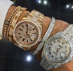 Shop at Stylizio for women's and men's designer handbags luxury sunglasses watches jewelry purses wallets clothes underwear Mens Diamond Jewelry, Diamond Watches For Men, Luxury Watches For Men, Rolex Watches For Men, Ladies Watches, Diamond Bracelets, Cheap Watches, Bling Bling, Datejust Rolex