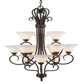 Found it at Wayfair - Multi Family 12 Light Chandelier