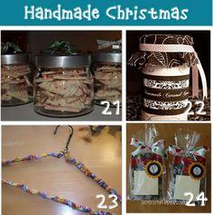 HANDMADE CHRISTMAS GIFT IDEAS {DIY}