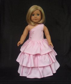 American Girl Doll Clothes Bridesmaid Gown Party by SewSoNancy, $20.00