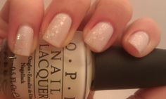 OPI Don't Touch my Tutu! with Pirouette My Whistle