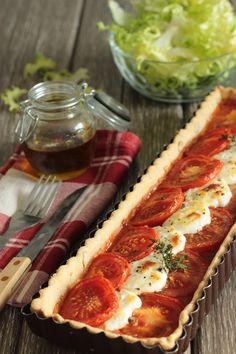 Tarte tomate chèvre (ig bas, végétarien) Méthode Healthy (tome 6)