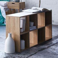 8 Cube Storage Unit Wood Look | Target Australia