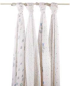 *NEW* night sky classic muslin swaddle print for babies. 4-pack: $49.95