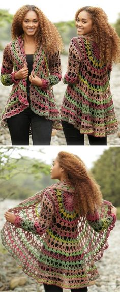 We have put together a collection of Crochet Circular Jacket Pattern Free Ideas that you are going to love. This is one of our most popular posts, check them out now.