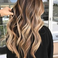 Brown Hair Balayage, Brown Blonde Hair, Hair Color Balayage, Light Brown Hair, Brunette Hair, Bronde Balayage, Blonde Ombre, Bright Blonde, Balayage Highlights