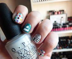 #nails #nailart #upintheair #30secondstomars