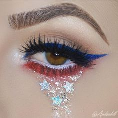 created this sparkly fun look with the help of Love eyeshadow! Liquid Eyeshadow, Glitter Eyeshadow, Makeup Eyeshadow, Makeup Blog, Beauty Makeup, Makeup Ideas, Makeup Art, Movie Makeup, Fairy Makeup