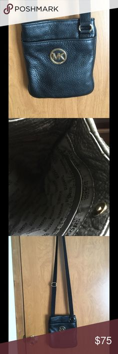 Authentic Black MK Crossbody In great condition, no stains, rips. Clean inside. Michael Kors Bags Crossbody Bags