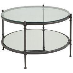 Clara Coffee Table - Gunmetal