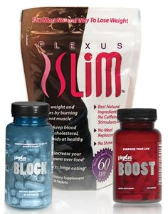 The Plexus Combo kit for faster weight loss. Includes the new Plexus Block with InSea2 brown seaweed supplement added.