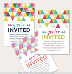 New Digital Invitations for Greenvelope