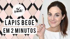 Lápis bege em 2 minutos - TV Beauté | Vic Ceridono