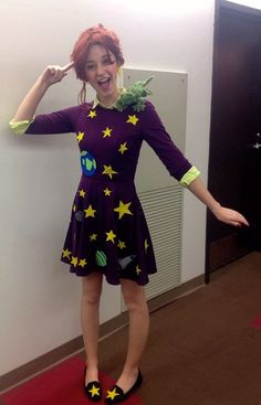 COMPLETE Ms. Frizzle Costume/Cosplay The Magic Schoolbus