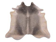 G-359 New Grey Cowhide Rug Solid Grey Gray cow hide by Cowhidesusa