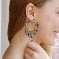 @tootz www.tootz.nl #bloved #earrings #round #silver #rings