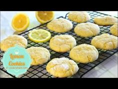 Lemon Cookies - Cook n' Share - World Cuisines Crepes, Yellow Food Coloring, Cook N, Lemon Cookies, Buttery Cookies, Melt In Your Mouth, Lemon Recipes, Natural Flavors, Cookie Recipes