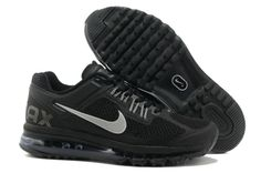 Black/Silver Nike Air Max+ 2013 Womens athletic running shoes Regular Price: $198.00 Special Price $93.78