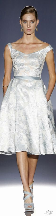 Spring 2016 Ready-to-Wear Cabotine by Gema Nicolás (from the Bridal Collection)