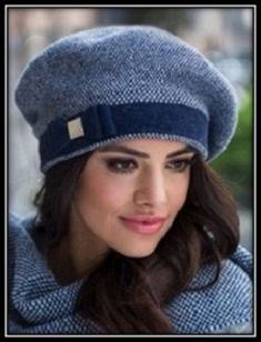 берет связанный спицами Knitting Patterns, Sewing Patterns, Knit Crochet, Crochet Hats, Sewing Aprons, Couture, Beret, Fashion Handbags, Mittens
