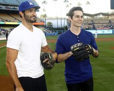 Tyler Hoechlin and Dylan O'Brien.