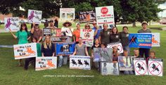 Protest Big Lick Animal Cruelty at the Tennessee State Fair | TUESDAY'S HORSE