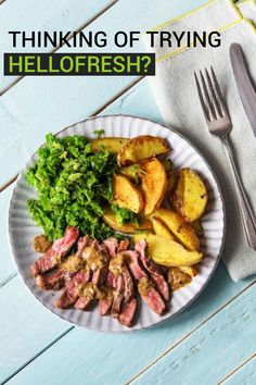 It's pretty easy to get into your daily eating regimen and not branch out to try new things nearly as often as you should. With all the fresh food delivery services out there, we decided to try HelloFresh to see if that would help us break free.