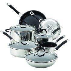 Circulon 78003  Momentum Nonstick, 11 Piece Cookware Set